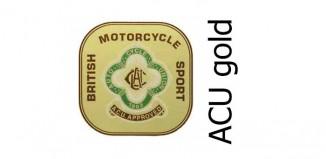 auto cycle union acu gold sticker