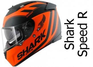 Shark Speed R in avenger orange colour scheme