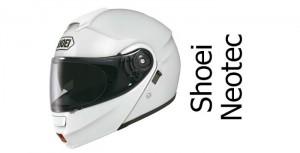 Shoei Neotec crash helmet in white