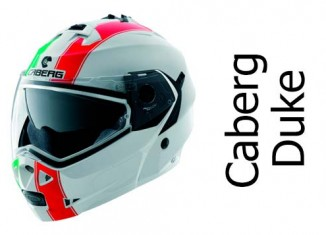 Caberg Duke legend italia crash helmet front view