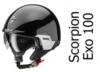 Scorpion-Exo-100-open-face-crash-helmet