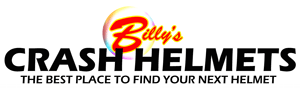 Billys crash helmets logo