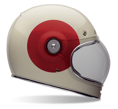 bell bullet crash helmet