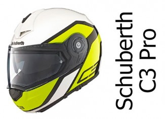 Schuberth C3 Pro in Observer Yellow colours