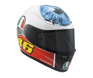 AGV GP Tech crash helmet Valentinos Eye