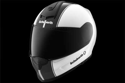 Schuberth s2 crash helmet exterior