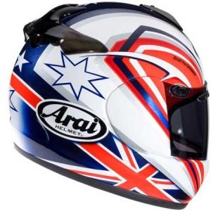 arai chaser v helmet rear view