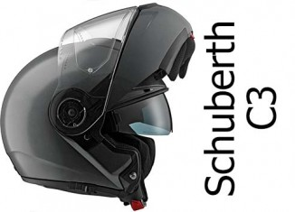 Schuberth C3 black helmet