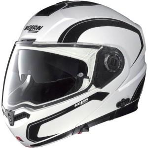 Nolan n104 motorcycle crash helmet side view