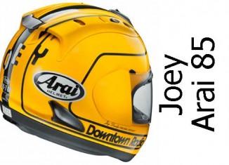 Arai Joey Dunlop 85 limited edition crash helmet