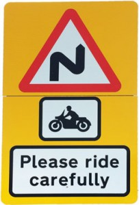 please ride carefully