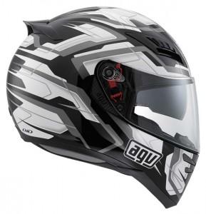 AGV-Horizon-Stamina-crash helmet black-white-grey