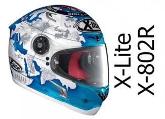 X-Lite X-802R in Carlos Checa Pearl Blue