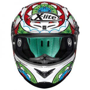 x-lite-x-802rr-composite-chas-davies-imola-replica-motorbike-crash-helmet-front-view