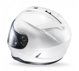 HJC IS 17 helmet Metal pearl white ryan