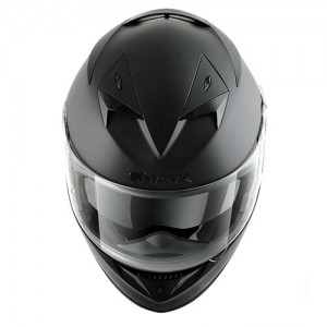 Shark-900C-crash-helmet-dual-black-front-view