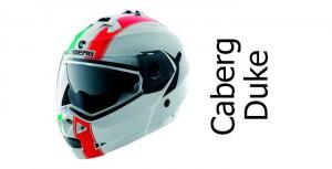 Caberg Duke legend italia crash helmet front view