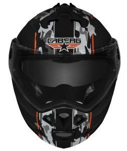 caberg duke commander crash helmet front