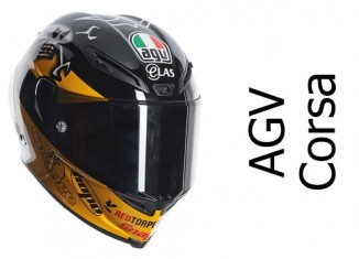 AGV Corsa motorcycle crash helmet guy martin