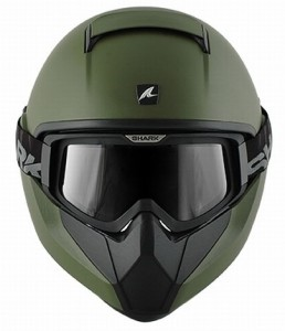 shark-vancore-matt-green-front-view