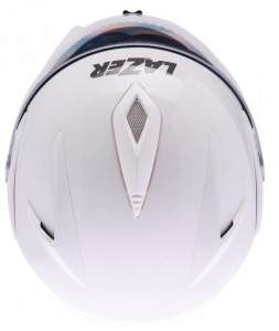 Lazer Paname Z-line crash helmet white top view