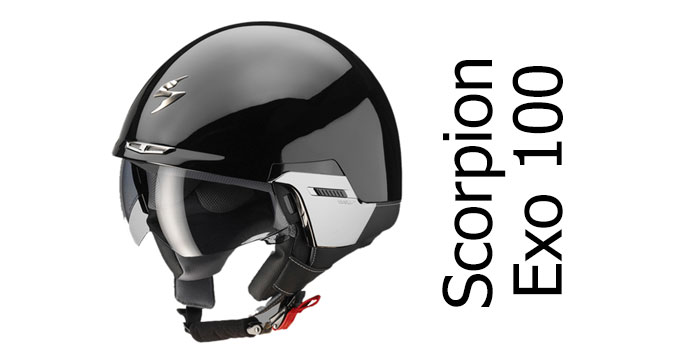 Scorpion-Exo-100-open-face-crash-helmet