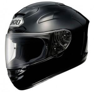 Shoei X Spirit II in gloss black