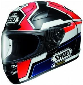 Shoei X Spirit II marquez 2 TC1 crash helmet