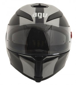 agv-k5-crash-helmet-naked-blk-silver-front-view
