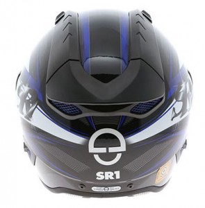 Schuberth-SR1-Blade-blue-rear-view
