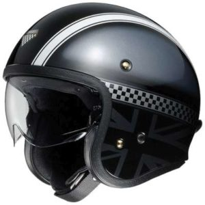shoei jo helmet hawker side view