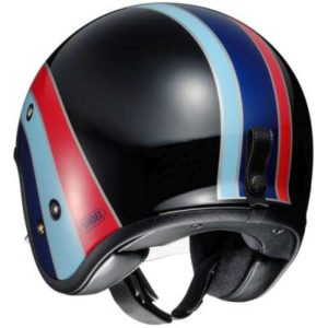 shoei jo helmet nostalgia tc10 rear view