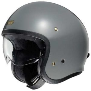 shoei jo rat grey helmet side view
