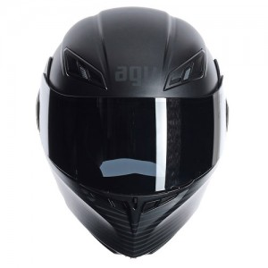AGV-compact-course-crash-helmet-audax-matt-black-front
