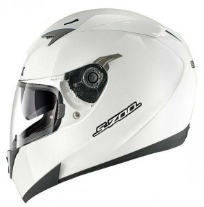 Shark-S700S-crash-helmet-plain-white-Prime-side-view