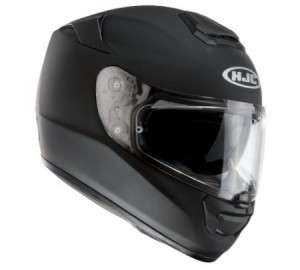 HJC RPHA ST matt black rubbertone crash helmet