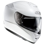 HJC RPHA ST metal gloss white crash helmet