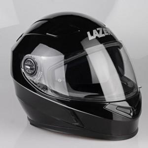 Lazer-Bayamo-crash-helmet-gloss-black-metal