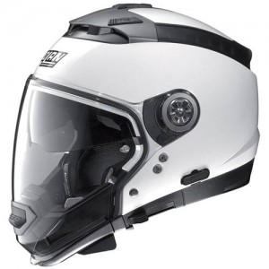 Nolan-N44-crash-helmet-classic-metal-white