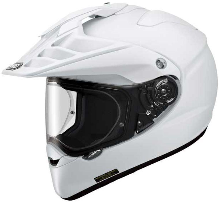 A Review Of The Shoei Hornet Adv Dual Sports Adventure Crash Helmet