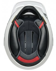 Interior view of the Shoei Hornet ADV