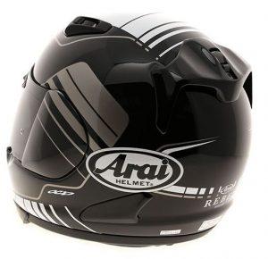 Arai Rebel street crash helmet rear view