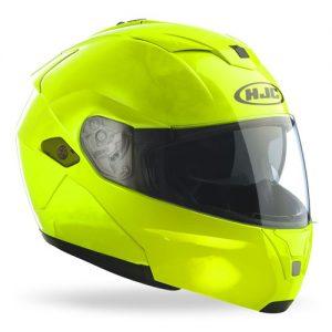 HJC-Sy-Max-III-modular-crash-helmet-fluorescent-front-view