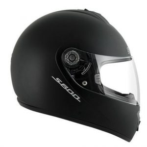 Shark-S600-solid-matt-black-helmet-side