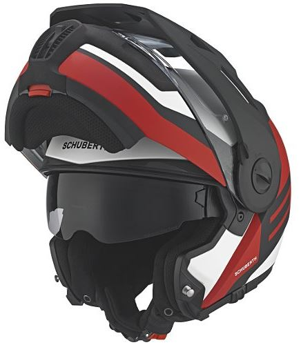 cbad2b983df5a Schuberth E1 Flip-up Adventure helmet review - Billys Crash Helmets