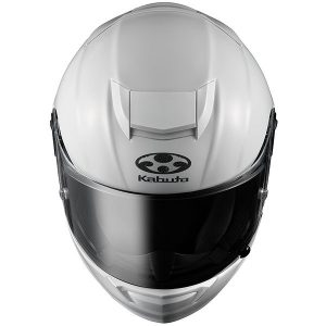 kabuto-RT-33-crash-helmet-pear-white-top-down