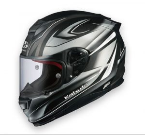 kabuto-RT-33-crash-helmet-rapid-black-silver