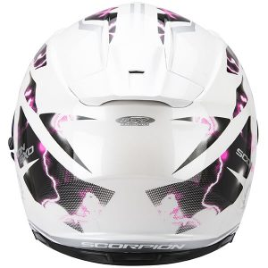 scorpion exo 510 air Xena crash helmet rear view