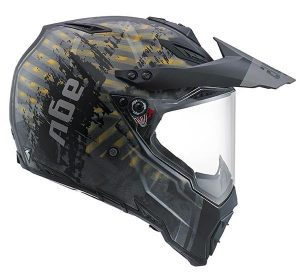 AGV-AX-8-dual-evo-multi-grunge-crash-helmet-side-view