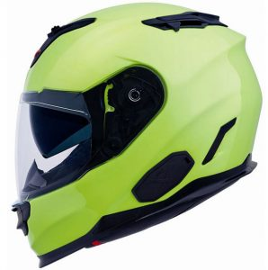 Nexx-XT1-plain-hi-viz-crash-helmet-side-view